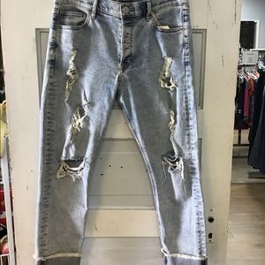 Express Vintage Ripped Jeans